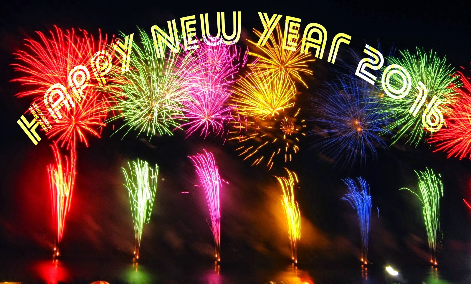 Happy New Year 2016 HD Wallpapers Happy New Year 2016 Images 1599x967