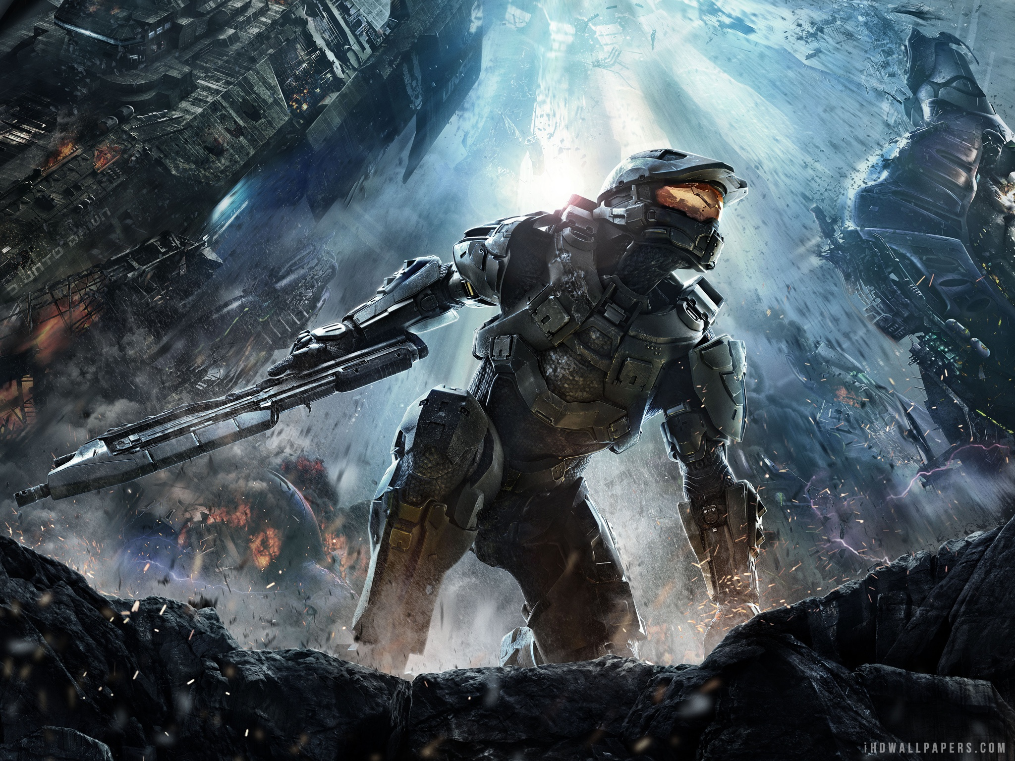 Download 2012 Halo 4 Game WallpaperBackground in 2048x1536 HD 2048x1536
