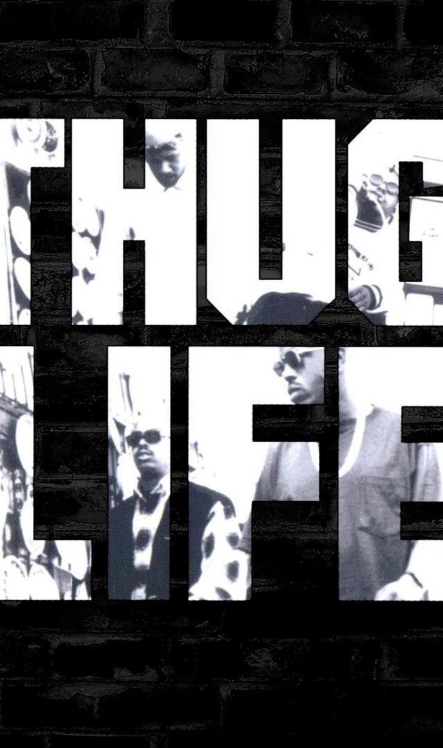 Tupac Thug Life Wallpaper 640x1080