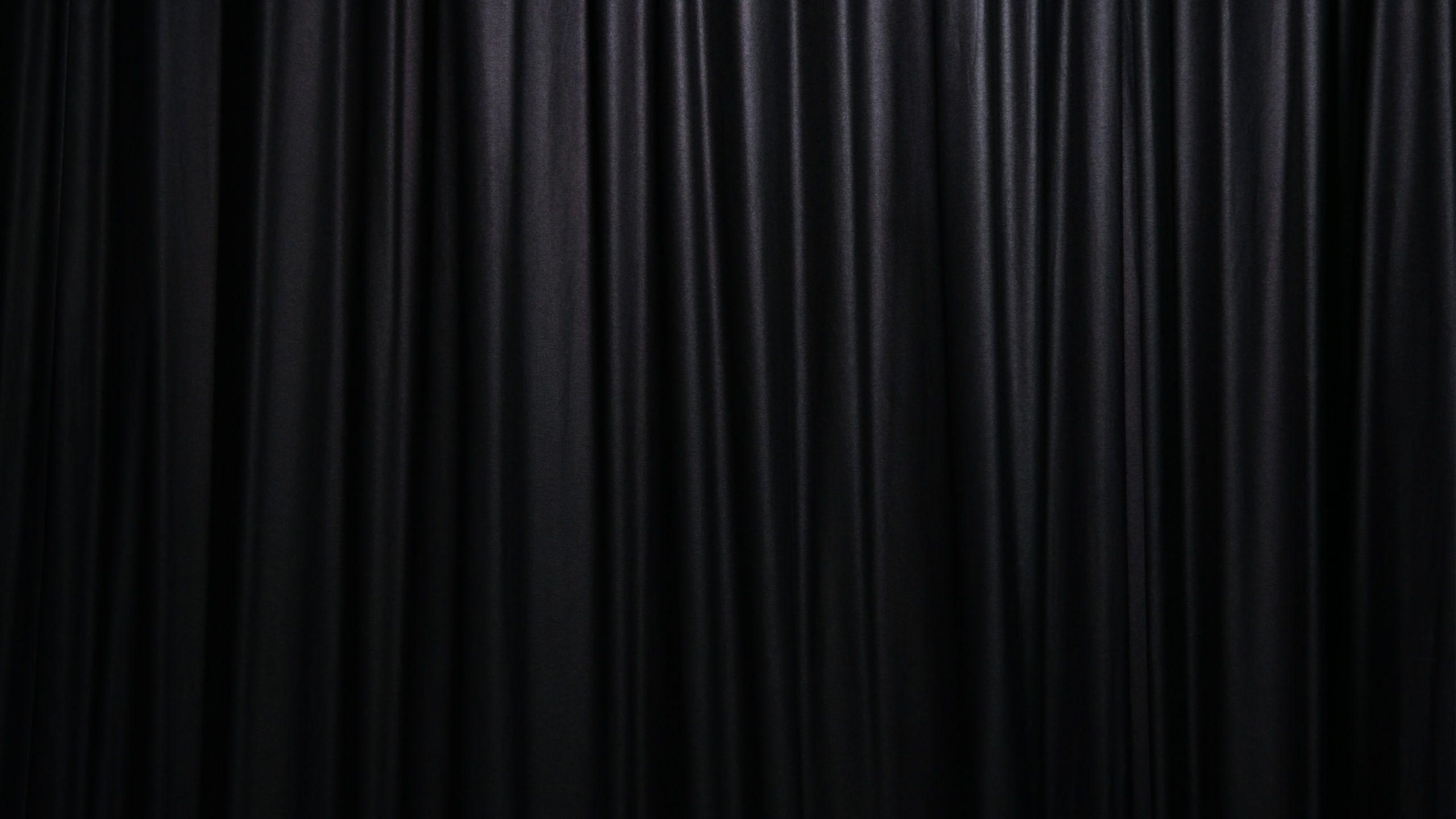 Black Curtain Wallpaper