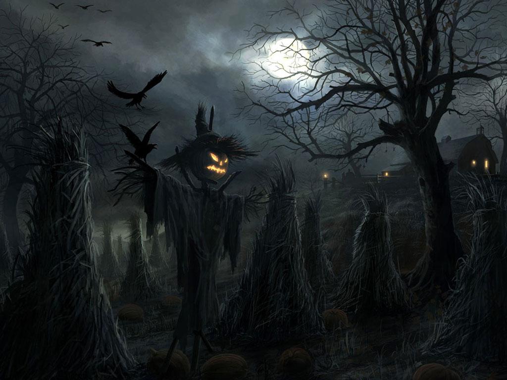 Spooky Halloween Desktop Wallpaper Operation Santa Claus 1024x768