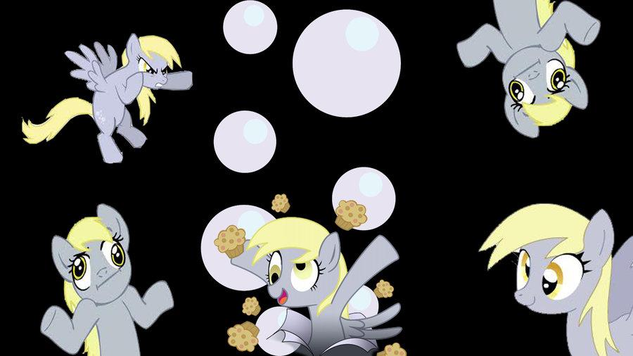 My Little Pony   Wallpaper   Design 1   Derpy by WolfOfRana on 900x506