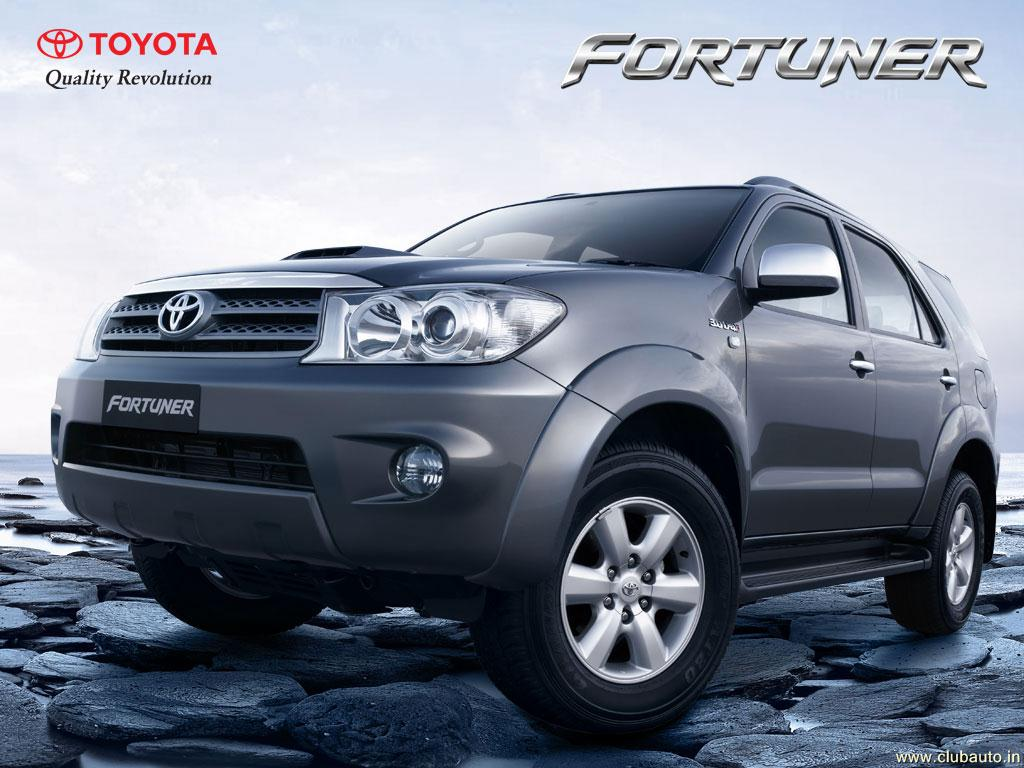 Wallpapers Cars Toyota Fortuner Toyota Fortuner high 1024x768