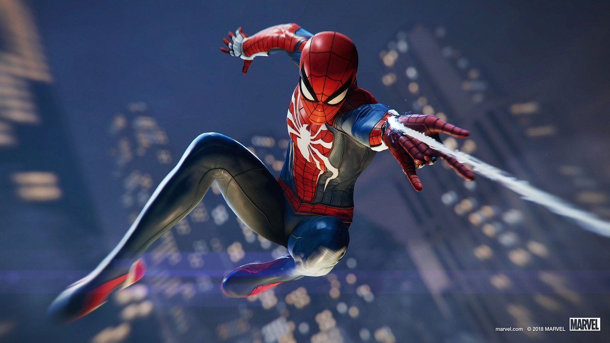New Spider Man PS4 Wallpaper SpidermanPS4 1200x675
