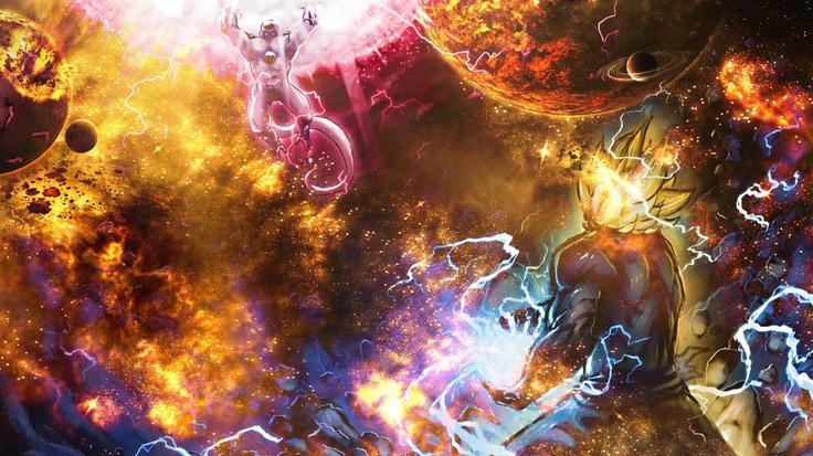 Goku Vs Frieza Wallpaper
