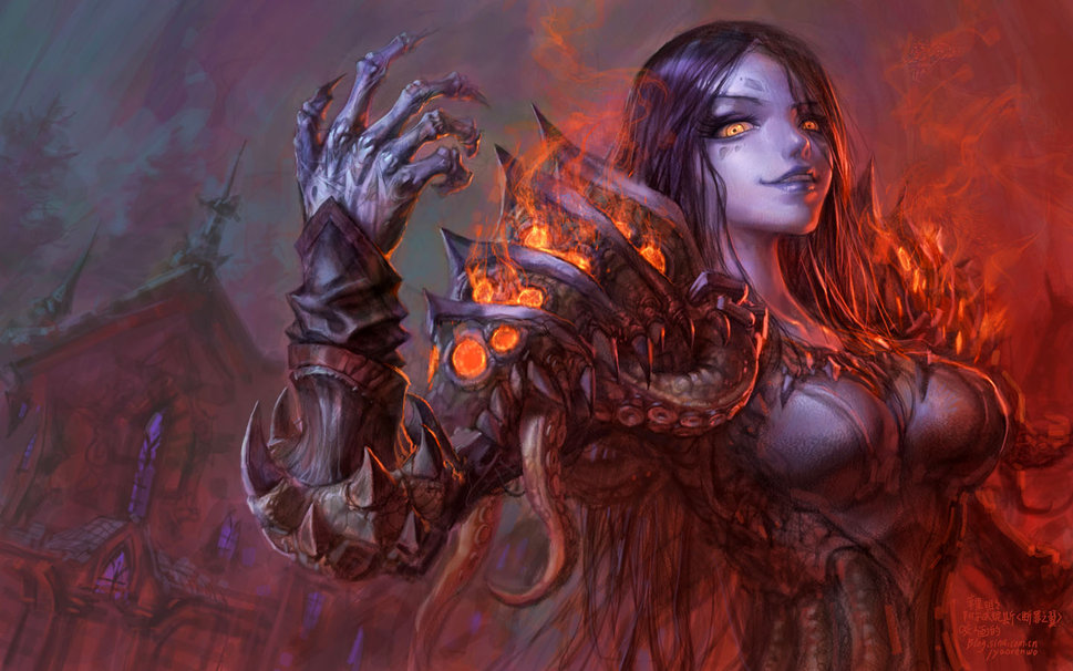 45 World Of Warcraft Warlock Wallpaper On Wallpapersafari