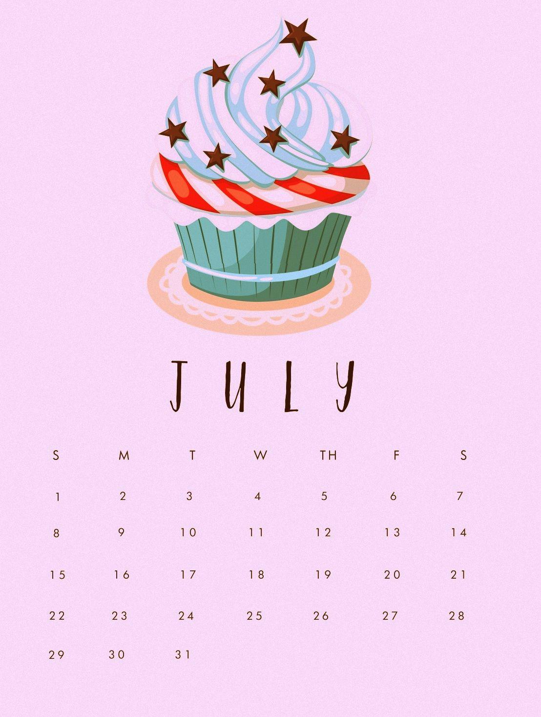 July 2018 Calendar Mobile Wallpaper 2018 Calendars Calendar 1108x1467