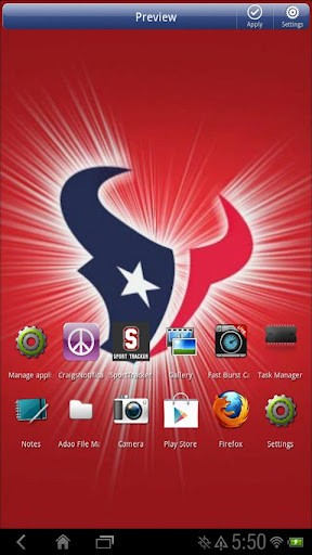 Download live wallpaper for with Houston Texans Houston Texans 288x512