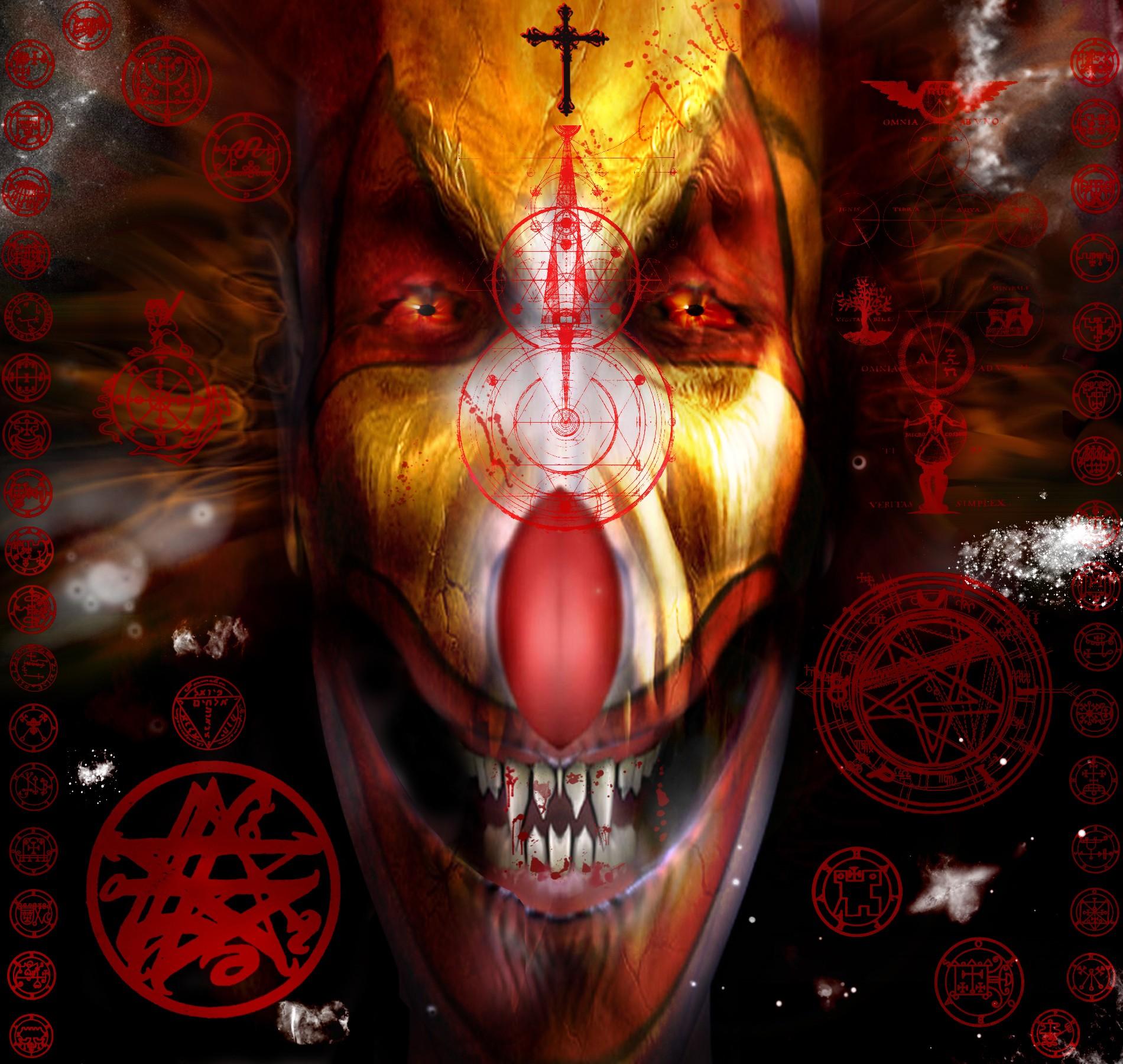 Hd wallpaper evil - Scary Clowns Wallpaper Scary Clown Hd Wallpapers