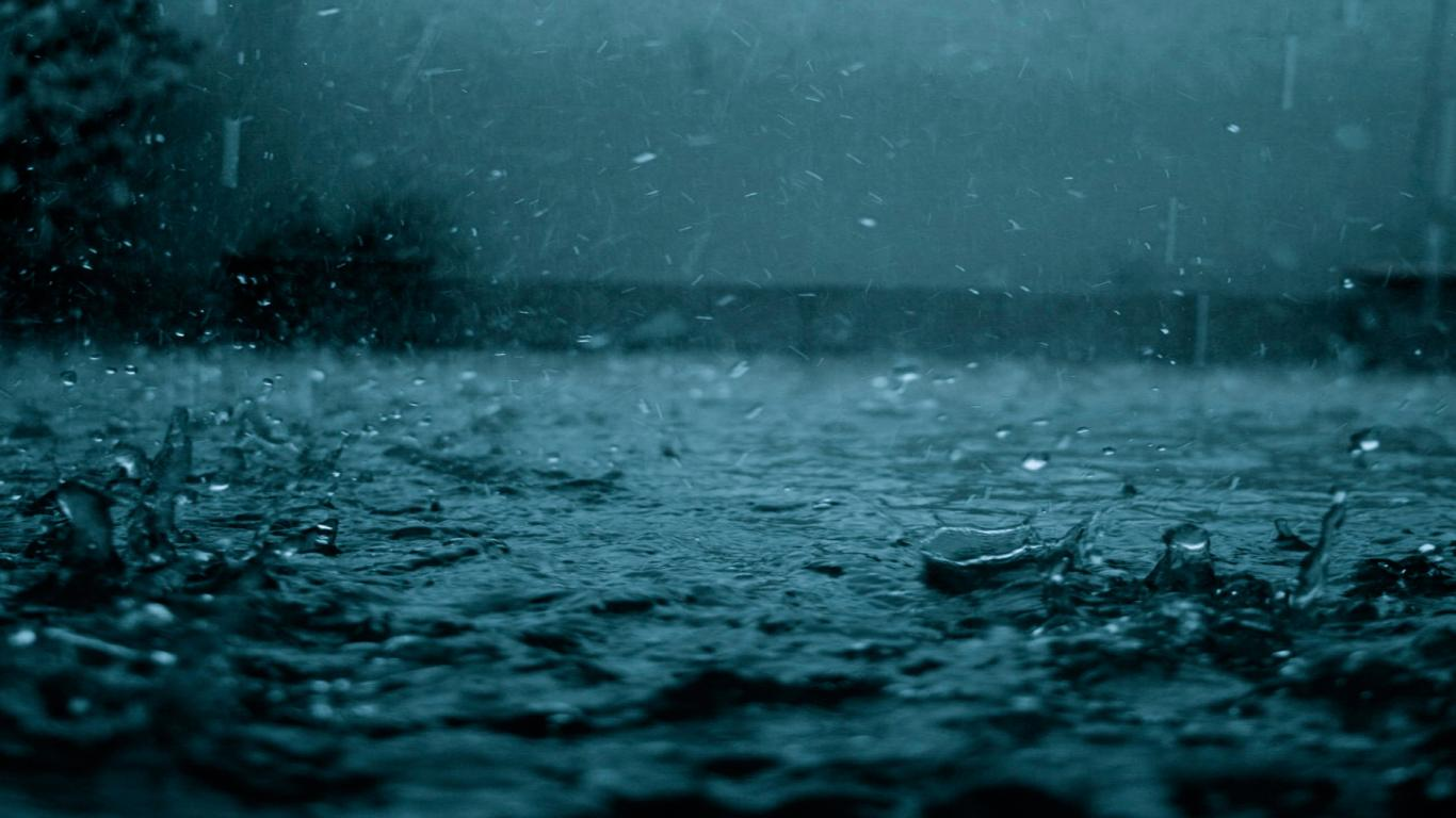 Rain Night Images Download HD Wallpapers Pictures Images 1366x768