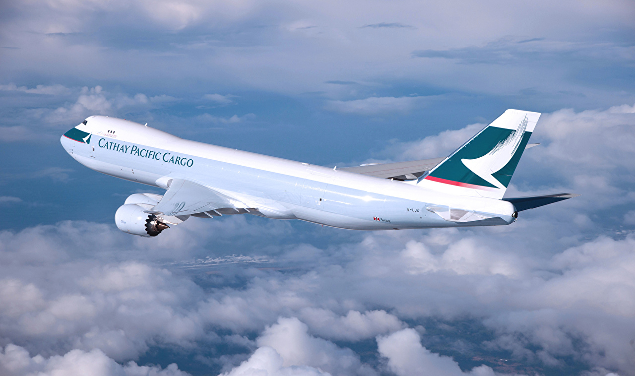 Desktop Wallpapers Aviation Airplane Passenger Airplanes Cathay 1280x758