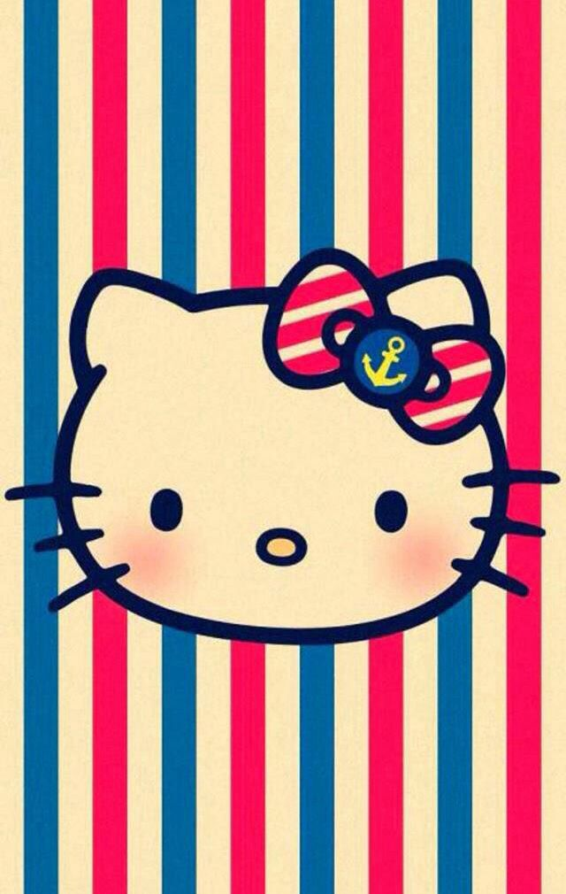 Hello Kitty Lock Screen Wallpaper Wallpapersafari