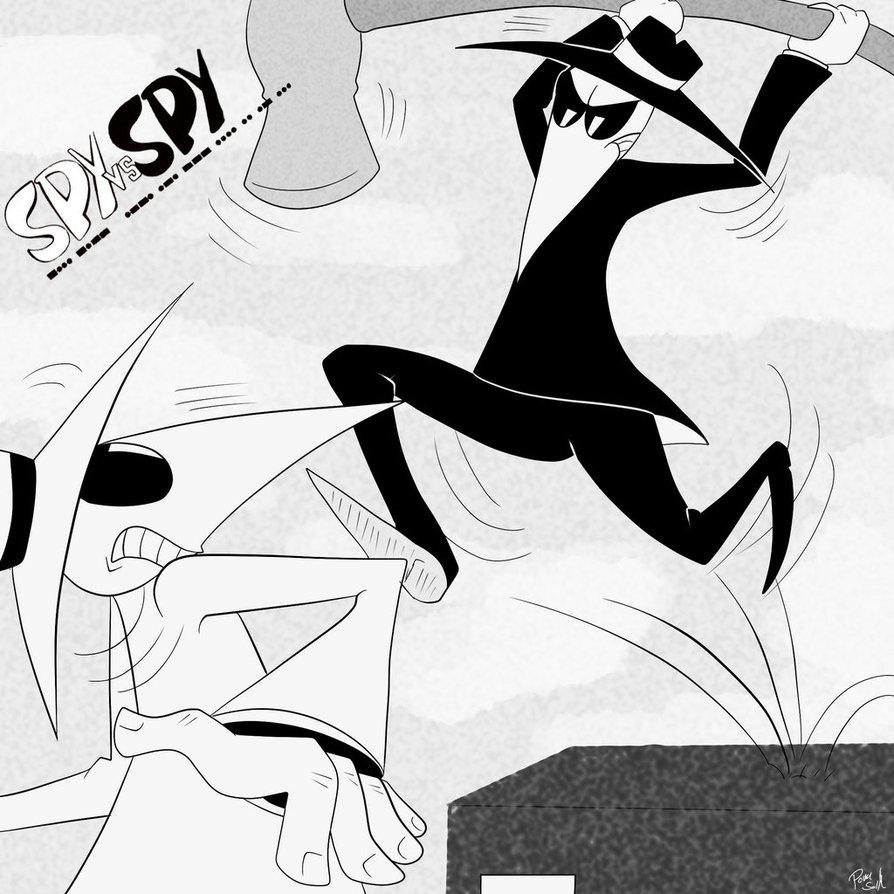 Spy Vs Spy Iphone Wallpaper Spy vs spy by poka sorm 894x894