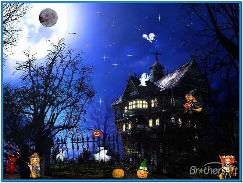 Animated halloween screensavers mac 823x623