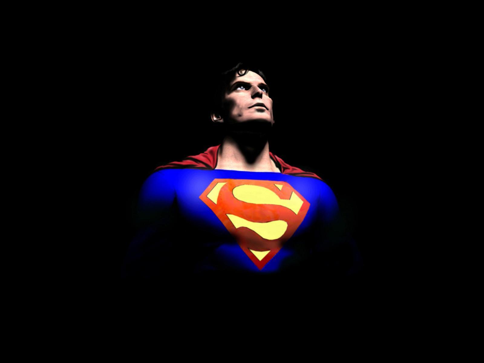 superman wallpaper superman cartoon achtergrond rood met geel superman 1600x1200