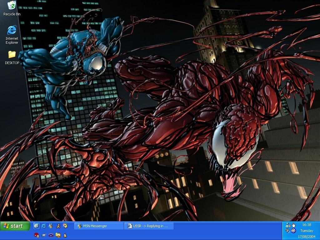 Venom Vs Carnage by shadowknuxx 1024x768
