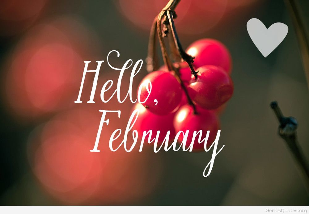 Love Hello february wallpaper 2015 quote   Genius Quotes 1000x693