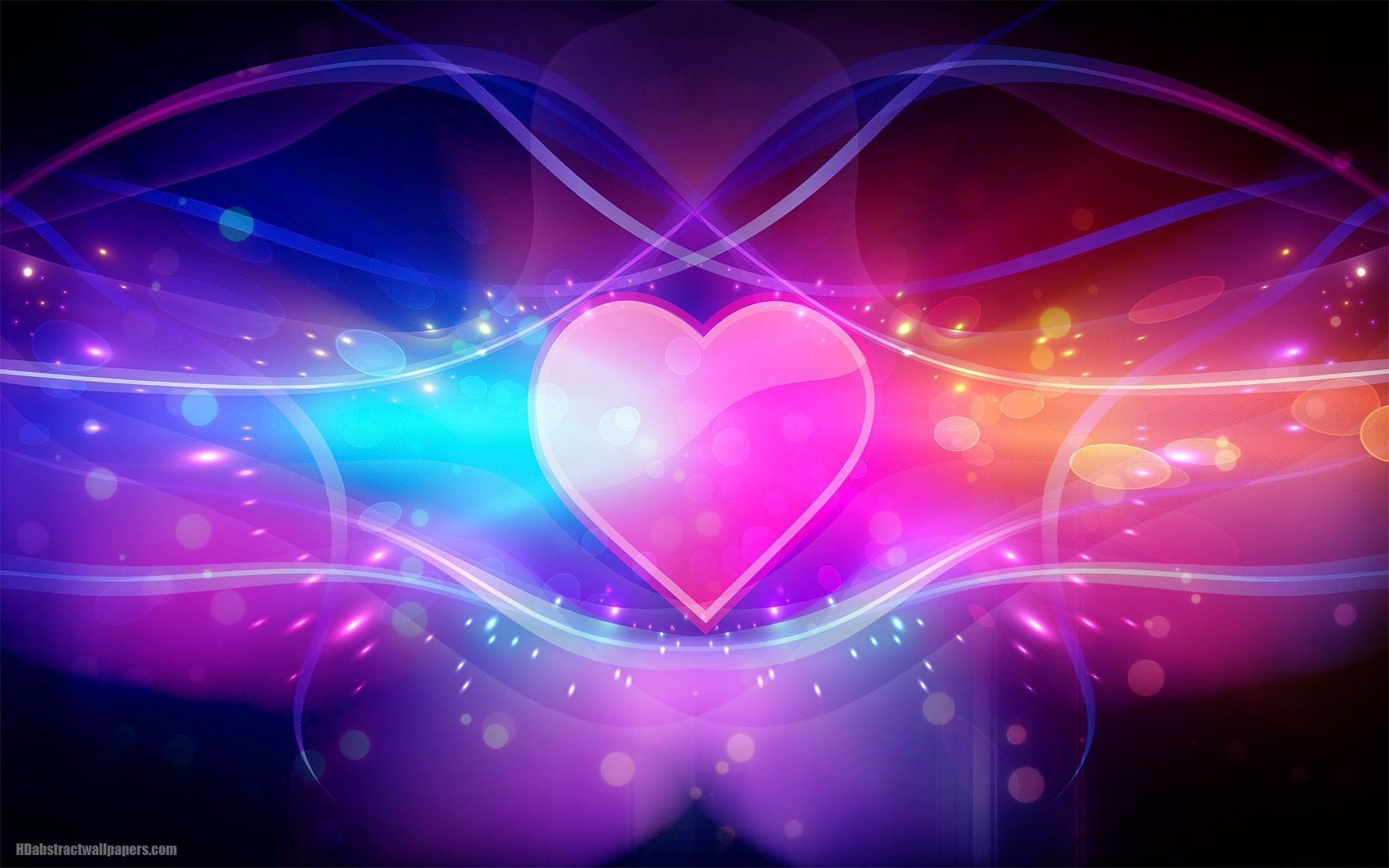 Abstract Heart Wallpapers   Top Abstract Heart Backgrounds 1920x1200
