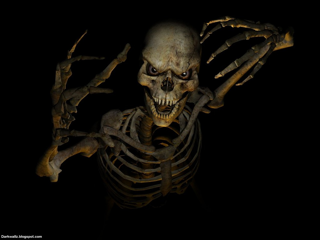 Skulls Wallpapers dark skull wallpaper HD Desktop wallpaper images 1280x960