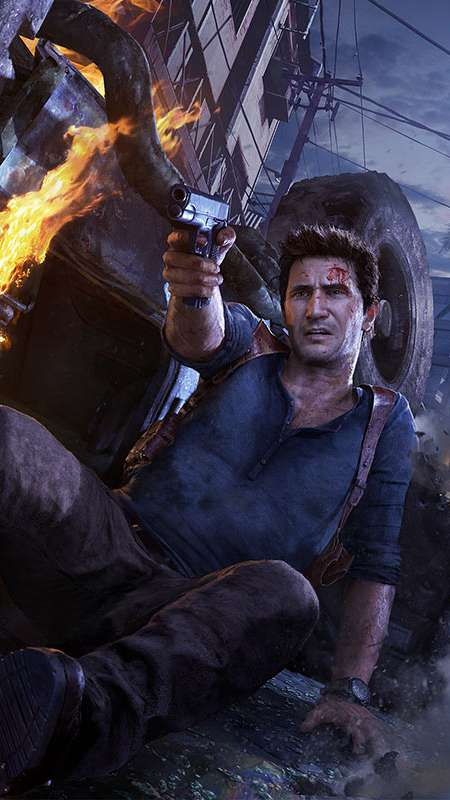 Uncharted 4 A Thiefs End wallpapers or desktop backgrounds 450x800