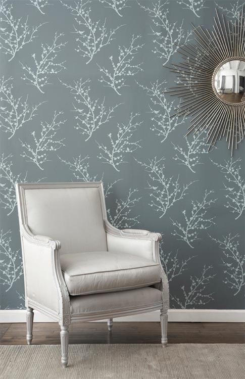 Tempaper  temporary wallpaper 85 Bedrooms Pinterest 485x750