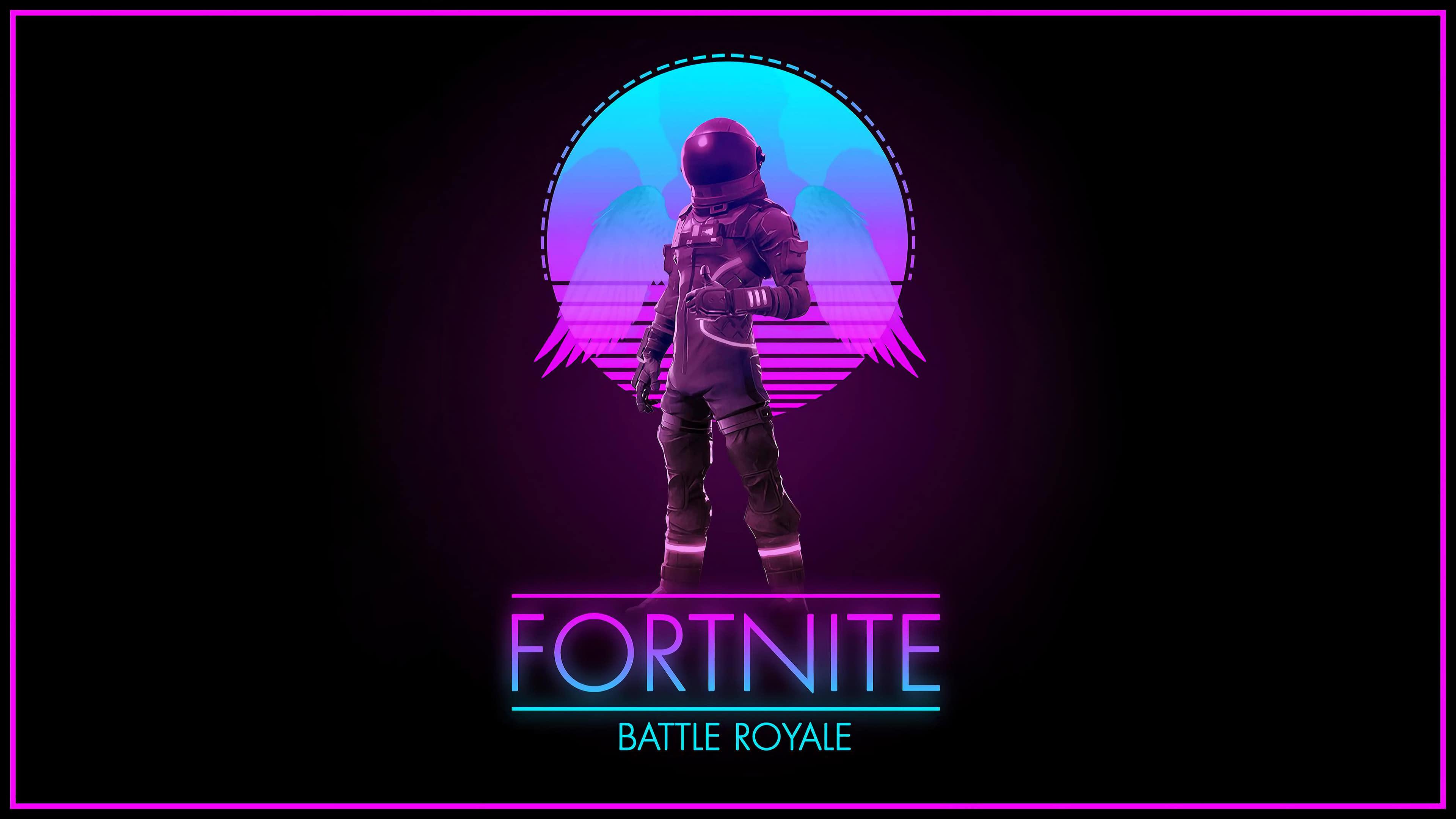 Fortnite Battle Royale Logo UHD 4K Wallpaper Pixelz 3840x2160