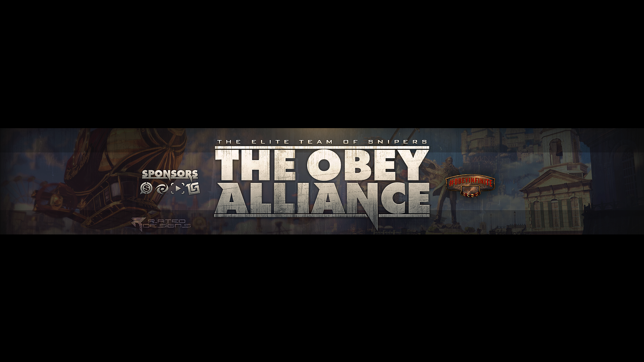 Obey Alliance Youtube Banner by OfficialRated 2120x1192