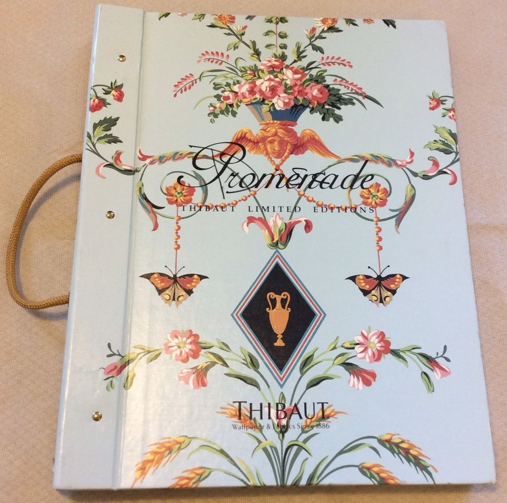 Thibaut Promenade Wallpaper Fabric Huge Sample Book 136 Pages Art 1000x992