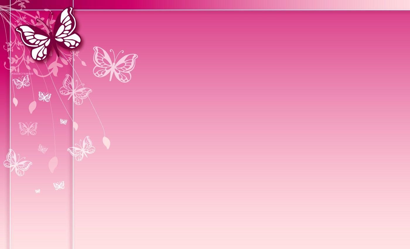 Pink Butterfly Wallpaper Desktop at Abstract Monodomo 1400x850
