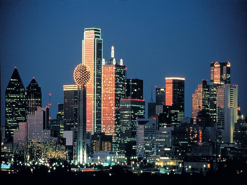 93 Dallas Skyline Wallpapers On Wallpapersafari