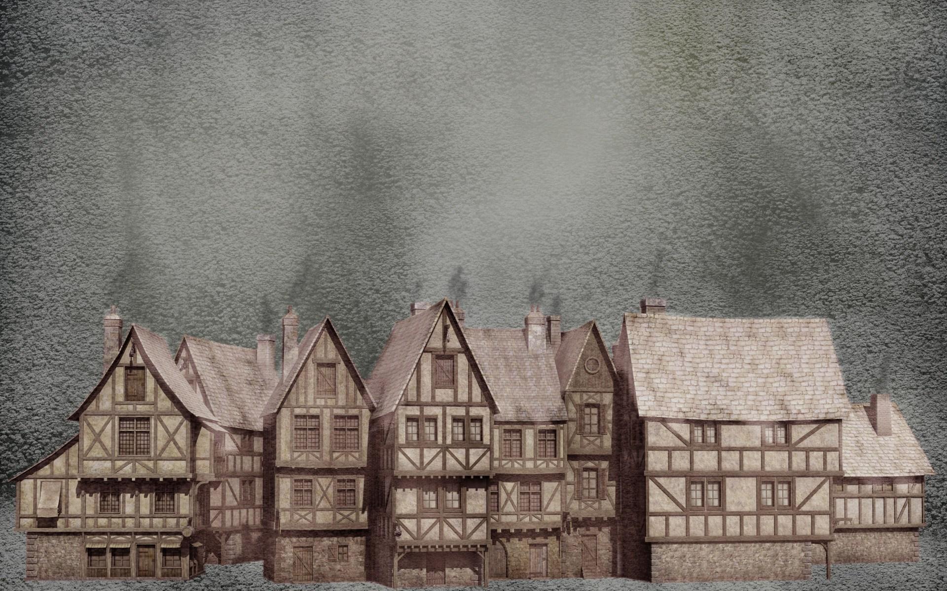 Oliver Twist Snow In The Old Town BestWallSitecom 1920x1200