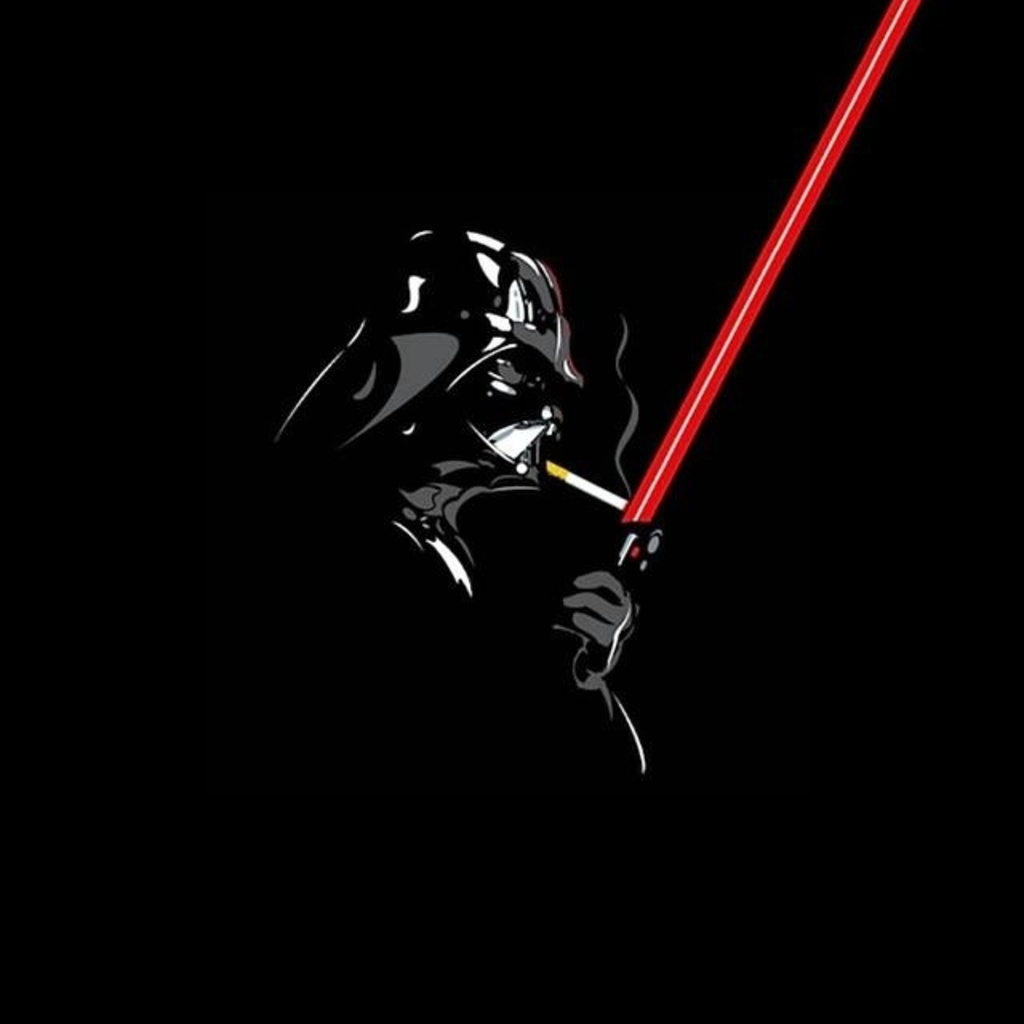 Free Download Star Wars Darth Vader Lighting A Cigarette Wallpaper For Apple Ipad 1024x1024 For Your Desktop Mobile Tablet Explore 47 Star Wars Ios Wallpaper Star Wars 7 Wallpaper