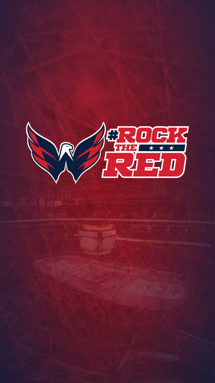 RockTheRed Downloads   Washington Capitals   Fan Zone 720x1280