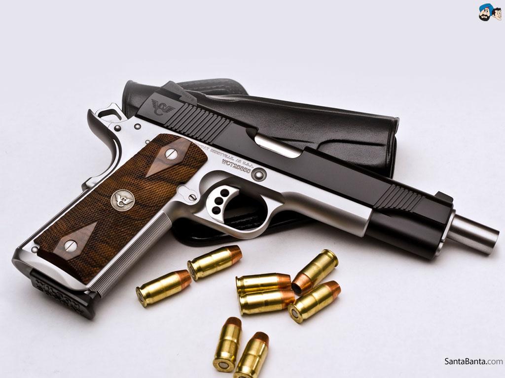 Pistols Wallpaper #11