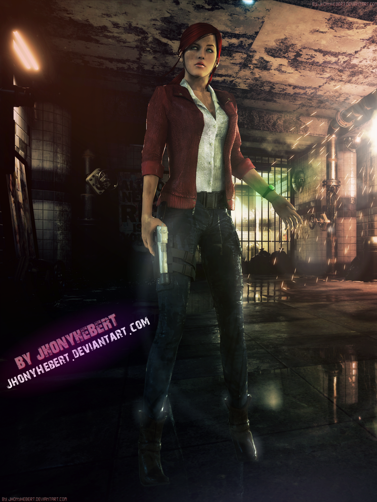 Resident Evil Claire Redfield Wallpaper 1280x1707