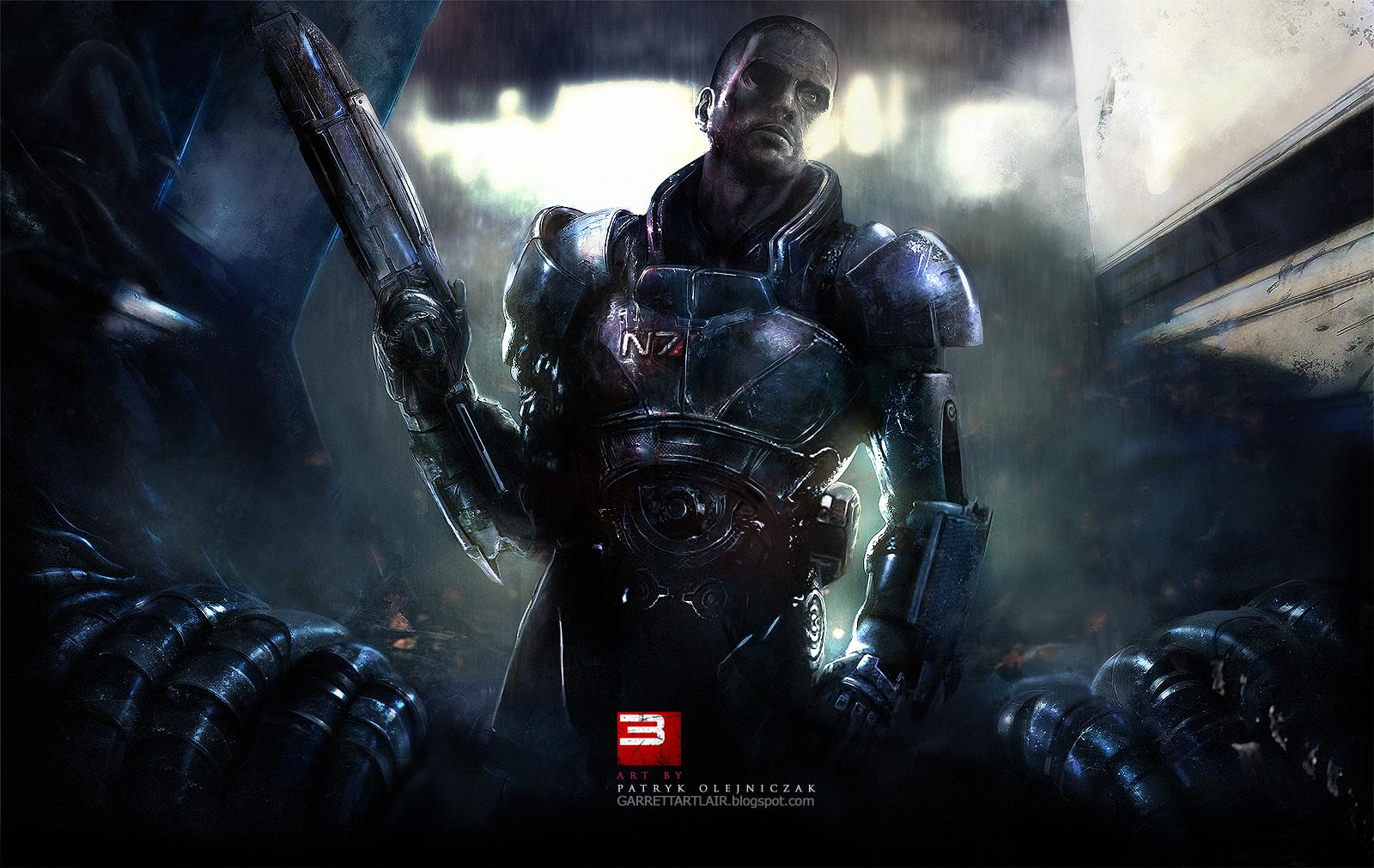 Mass Effect Reaper Concept Art