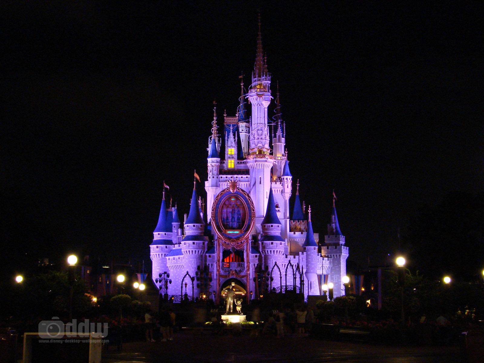 Cinderella Castle Desktop Wallpaper 1600 x 1200 1600x1200