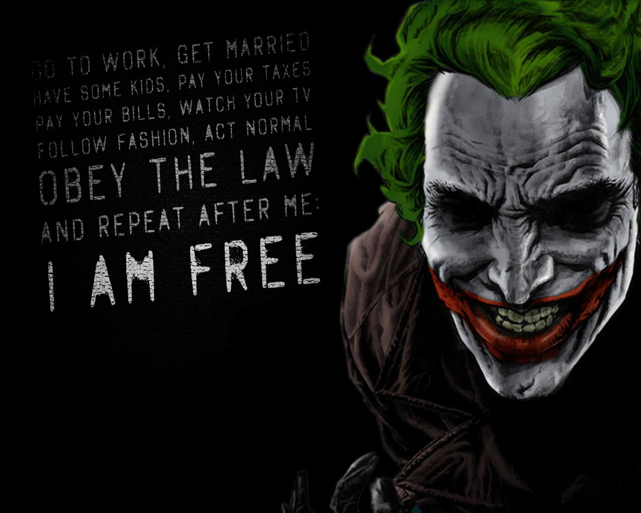 Joker Quotes Wallpapers - WallpaperSafari