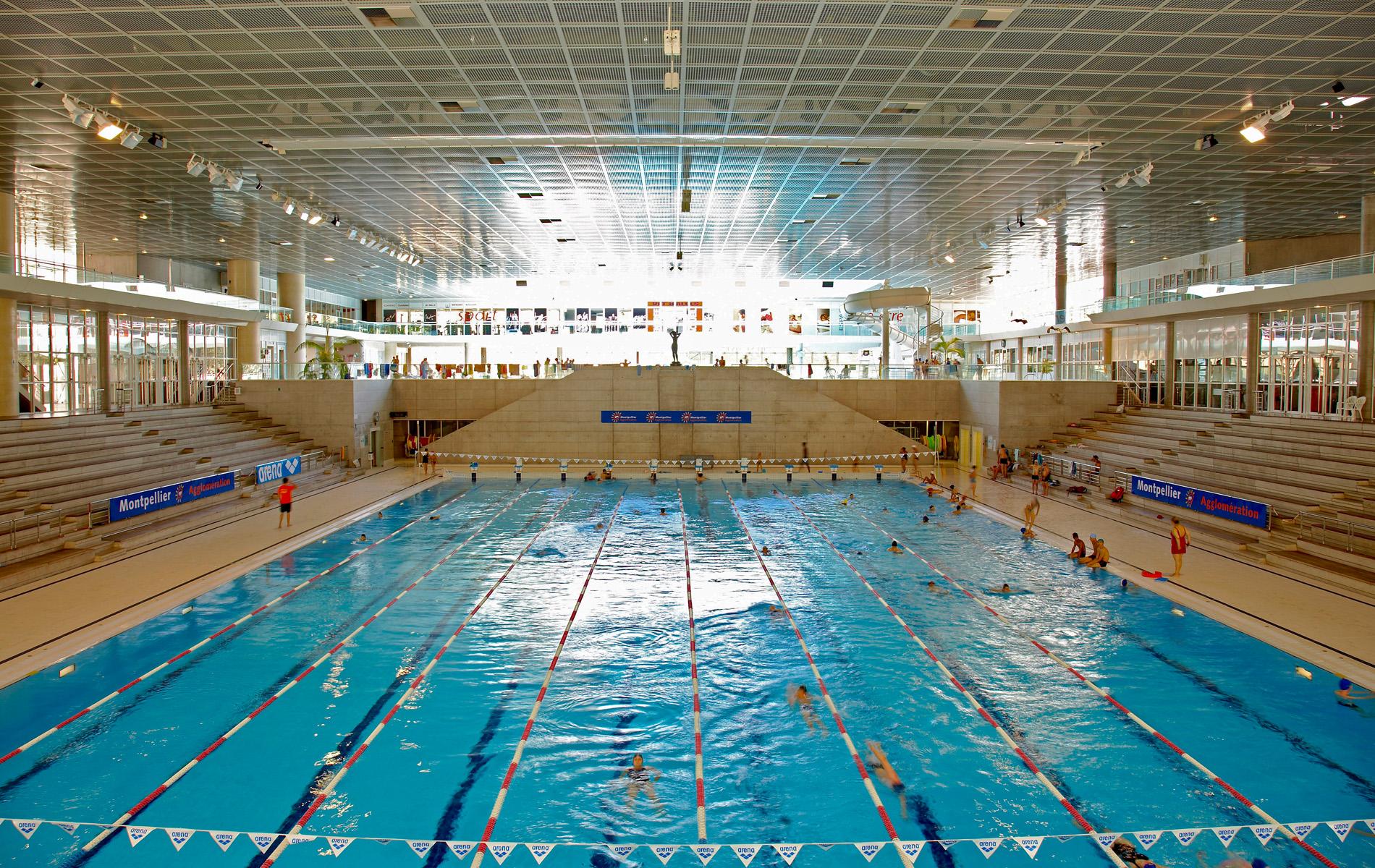 Olympic Swimming Pool Wallpaper Wallpapersafari