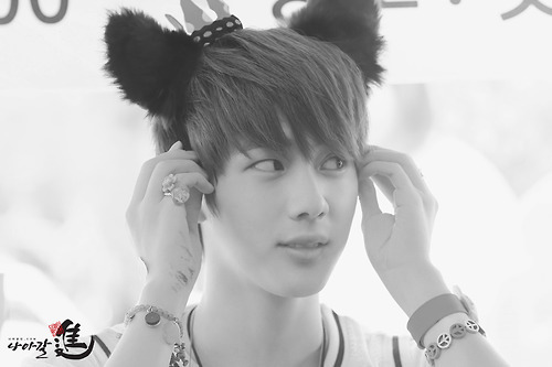 BTS images Jin so cutemeowo wallpaper and background 500x333