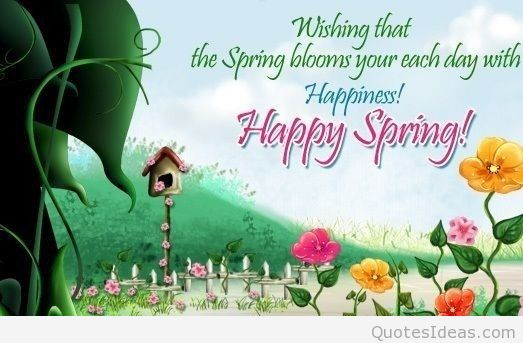 First day of spring quotes wallpapers and flowers photos 523x343