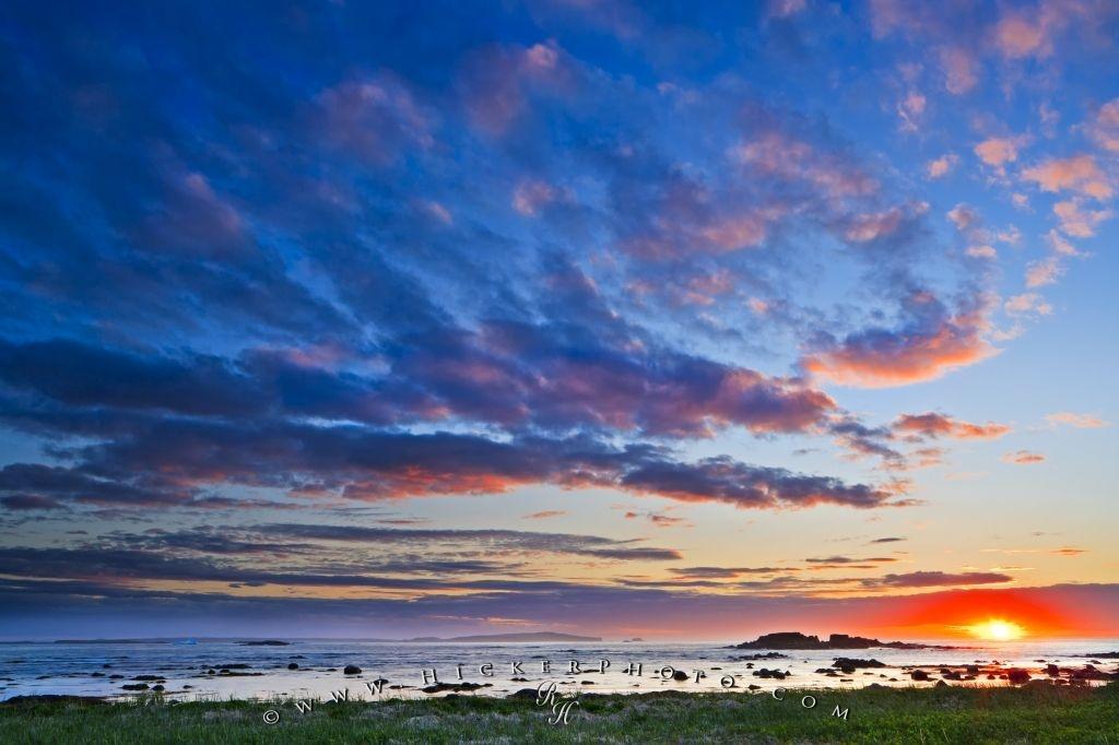 wallpaper background Rocky Coastline Sunset L Anse Aux 1024x682