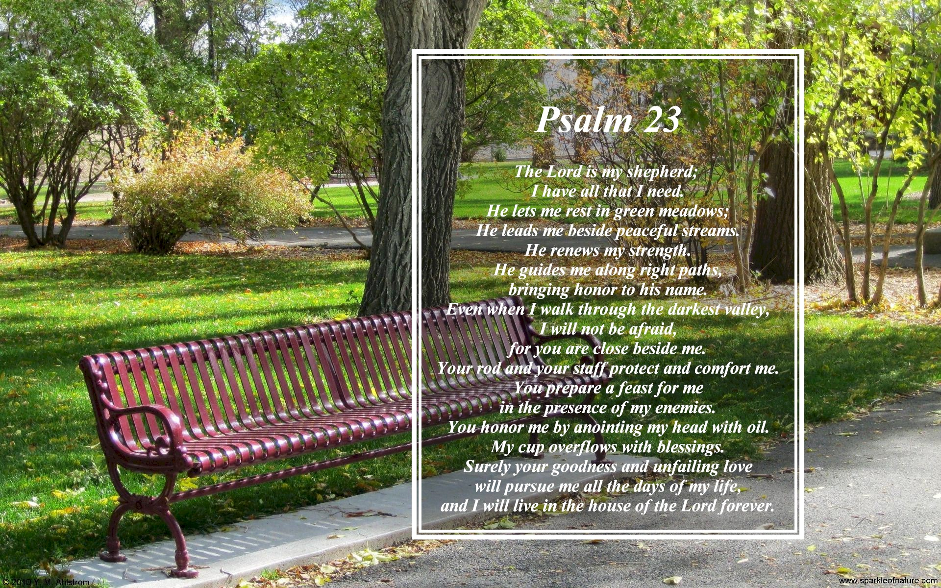 Psalm 23 wallpaper   693586 1920x1200