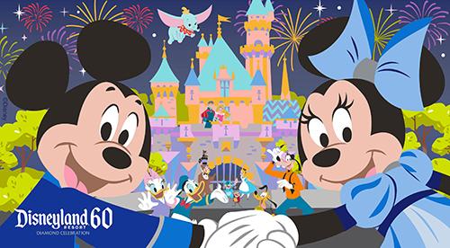 Anniversary Popcorn Buckets and Mugs Coming to Disneyland Eating WDW 500x276
