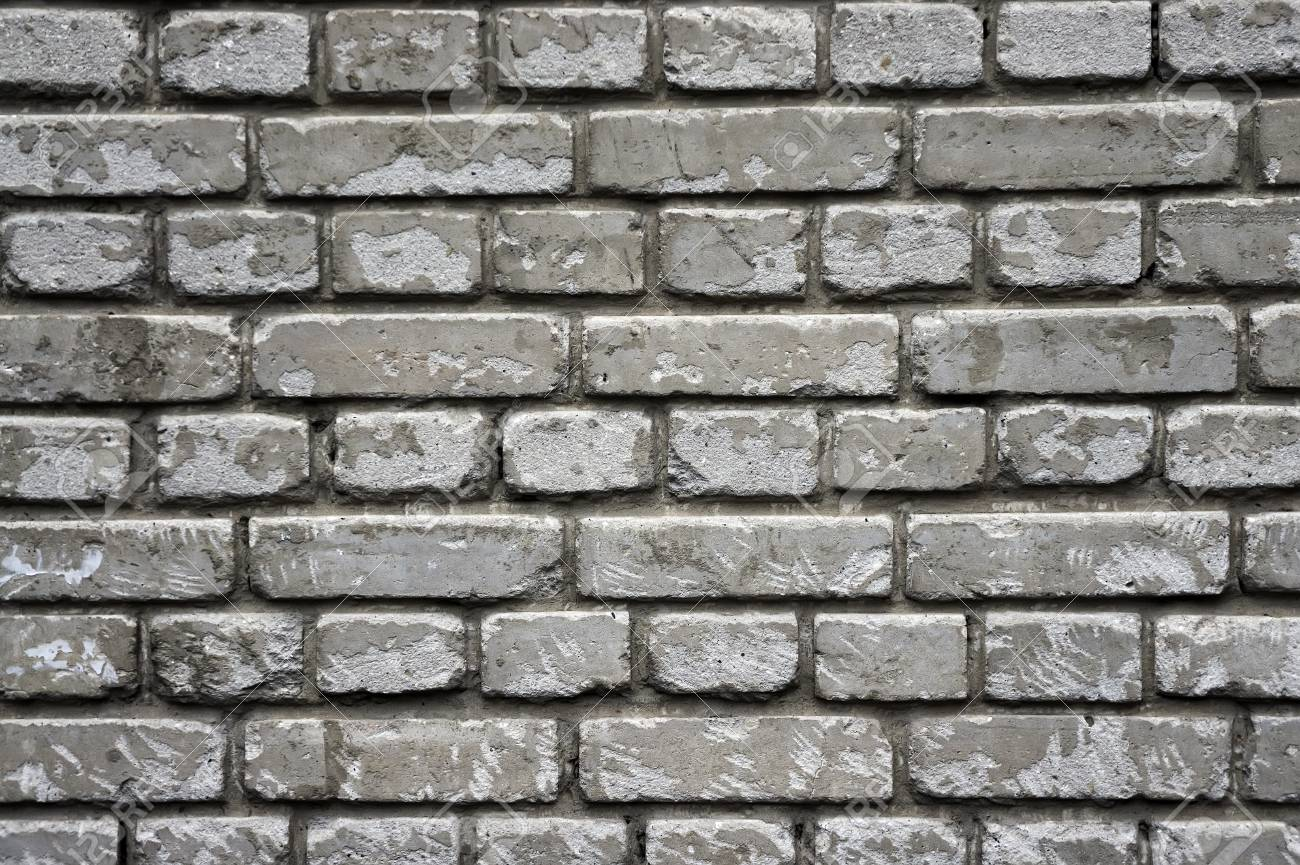 Old Brick Wall Texture Background Template Tough Worn White 1300x865