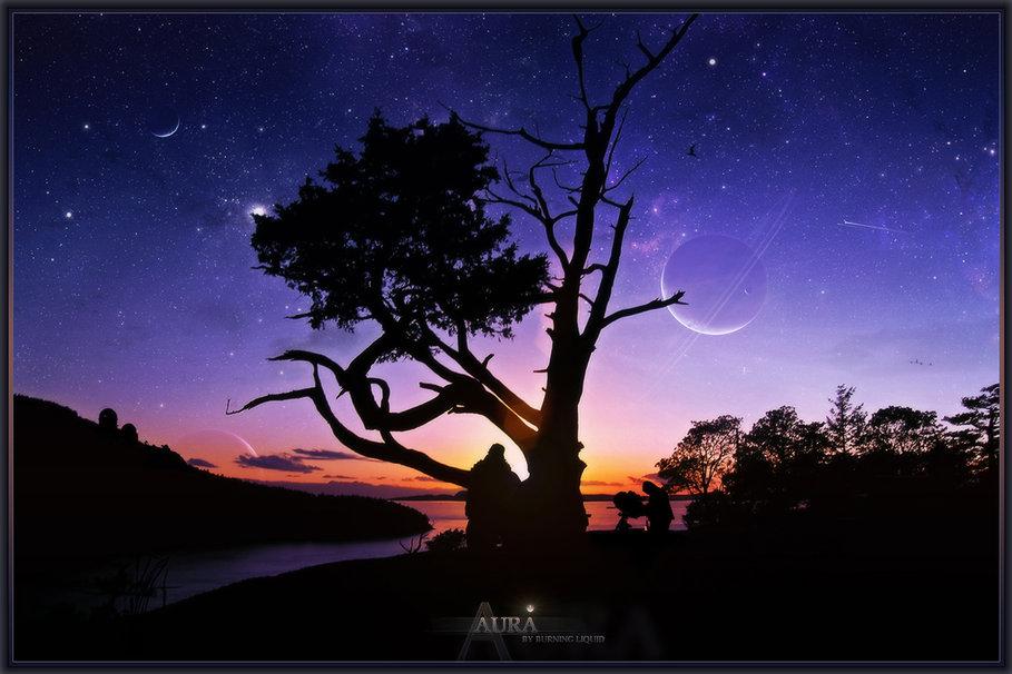 Aura Sunset Wallpaper   ForWallpapercom 909x606