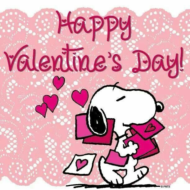 Happy Valentines Day Snoopy Charlie Brown Snoopy Pinterest 612x612