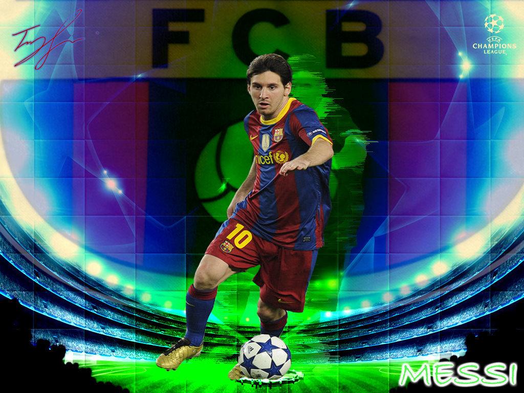 Lionel Messi FC Barcelona Wallpaper   Lionel Andres Messi Wallpaper 1024x768