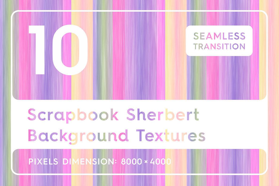 10 Scrapbook Sherbert Background Textures   Graphics   YouWorkForThem 1184x792