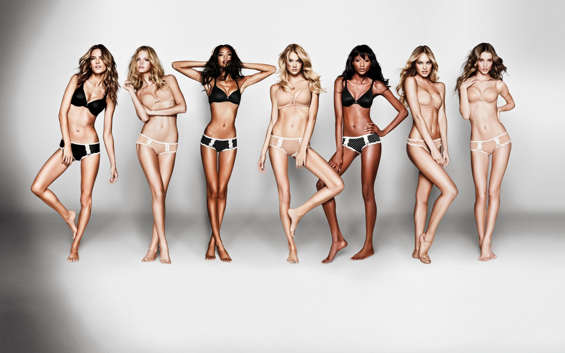 Victoria Secret Models Ultra HD Desktop Background Wallpaper for 1920x1200